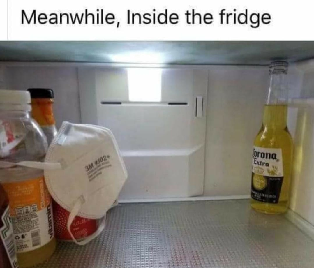 Fridge meme